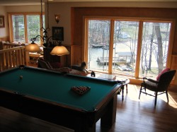 Rec Room with Pool Table